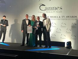 """""""Inside Man"""" wird mit dem Silver Dolphin der Cannes Corporate Media & TV Awards 2019 ausgezeichnet."""